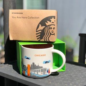 Starbucks Chicago You Are Here Collection Mug 12oz